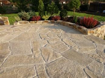 terrasse pierre